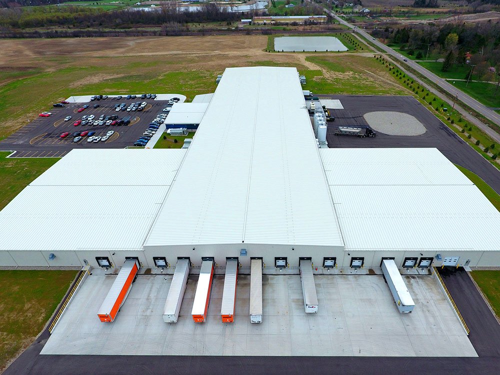 Fernco USA aerial image of building